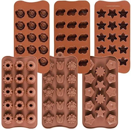 پخش انواع قالب سیلیکونی شکلات به طور عمده
