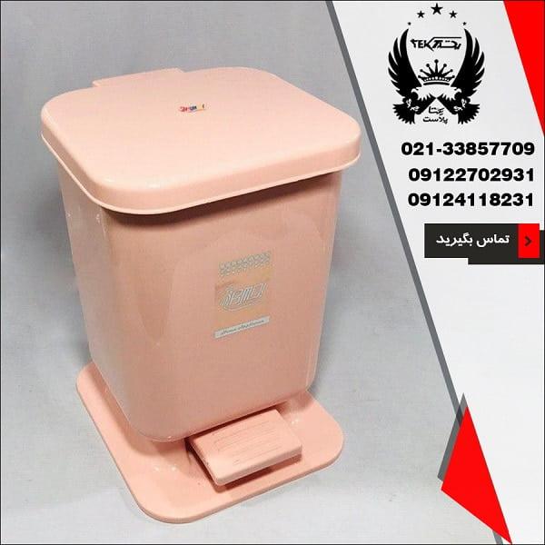 سطل پدالی بی ام دی مدل کلین - سرویس عروس بی ام دی