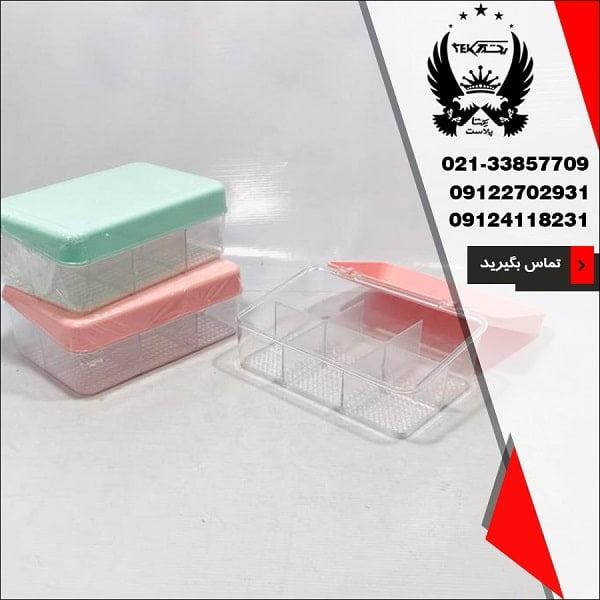 فروش عمده جعبه تی بگ Ev Style - پخش پلاستیک یکتا